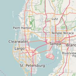 Tampa Florida Zip Code Map Tampa, Florida ZIP Code Map   Updated December 2020